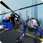 Air Force Transform Robot Cop Wolf Helicopter Game APK (MOD, Unlimited Money) 1.3.2