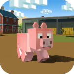 Blocky Pig Simulator 3D APK (MOD, Unlimited Money) 1.09