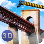 Bridge Construction Crane Sim APK (MOD, Unlimited Money) 1.39