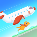 Dinosaur Airport – Flight simulator Games for kids APK (MOD, Unlimited Money) 1.0.9