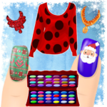 Dress up and Nail Games – Christmas Style APK (MOD, Unlimited Money) 1.1