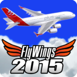 Flight Simulator 2015 Flywings – Paris and France APK (MOD, Unlimited Money) 2.1.3