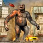 Gorilla Smash City Big Foot Monster Rampage APK (MOD, Unlimited Money) 1.9