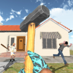 Granny Kick Neighbor – New Free Fun Shooting Games APK (MOD, Unlimited Money) 5.6