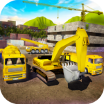 House Building Simulator: try construction trucks! APK (MOD, Unlimited Money) 1.3.1
