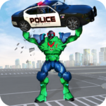 Incredible Monster Robot Hero Crime Shooting Game APK (MOD, Unlimited Money) 1.9