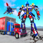 Indian Police Robot Transform Truck APK (MOD, Unlimited Money) 1.12