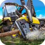 Logging Harvester Truck APK (MOD, Unlimited Money) 1.4