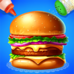 🍔🍔Make Hamburger – Yummy Kitchen Cooking Game APK (MOD, Unlimited Money) 3.6.5026