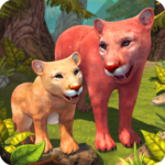 Mountain Lion Family Sim : Animal Simulator APK (MOD, Unlimited Money) 1.8