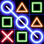 Tic Tac Toe Glow Machine APK (MOD, Unlimited Money) 1.18
