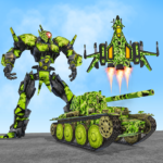 US Army Robot Transformation Jet Robo Car Tank War APK (MOD, Unlimited Money) 1.7