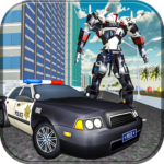 US Police Transform Robot Car: Real Snow City APK (MOD, Unlimited Money) 1.0.7