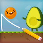 Where's My Avocado? Draw lines APK (MOD, Unlimited Money) 20.0729.09