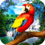 🐦 Wild Parrot Survival – jungle bird simulator! APK (MOD, Unlimited Money) 1.2.3