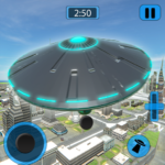 Alien Flying UFO Simulator Space Ship Attack Earth APK (MOD, Unlimited Money) 1.4