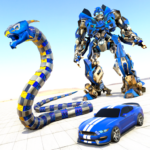 Anaconda Robot Car Games: Mega Robot Games APK (MOD, Unlimited Money) 1.1