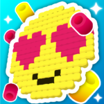 Bead Hama and Loom Pattern! Color and iron it APK (MOD, Unlimited Money) 1.212