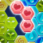 Block Hexa Puzzle: My Flower APK (MOD, Unlimited Money) 1.0.8
