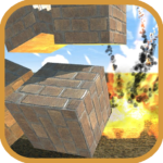 Block destruction simulator: cube rocket explosion APK (MOD, Unlimited Money) 1