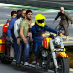 Bus Bike Taxi Driver – Transport Driving Simulator APK (MOD, Unlimited Money) 2.4