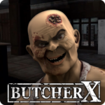 Butcher X – Scary Horror Game/Escape from hospital APK (MOD, Unlimited Money) 1.9.9