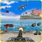 Call of Beach Defense: FPS Free Fun 3D Games APK (MOD, Unlimited Money) 1.1