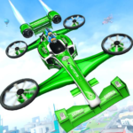 Flying Formula Car Games 2020: Drone Shooting Game APK (MOD, Unlimited Money) 2.1