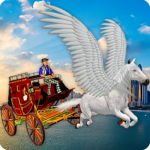 Flying Horse Taxi City Transport: Horse Games 2020 APK (MOD, Unlimited Money) 2.6