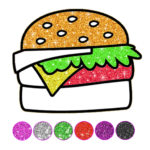 Food Coloring Game – Learn Colors APK (MOD, Unlimited Money) 4.3