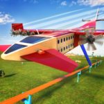 Futuristic Flying Train Simulator Taxi Train Games APK (MOD, Unlimited Money) 1.7
