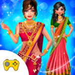 Indian Wedding Saree Designs Fashion Makeup Salon APK (MOD, Unlimited Money) 1.0.6