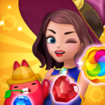Jewel Witch – Best Funny Three Match Puzzle Game APK (MOD, Unlimited Money) 1.8.4