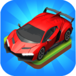 Merge Car game free idle tycoon APK (MOD, Unlimited Money) 1.1.06