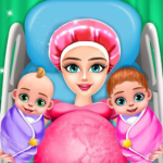 Pregnant Mom And Twin Baby Care Nursery Game APK (MOD, Unlimited Money) 0.3