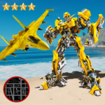 Robot Airplane Simulator Flying Robot Transforming APK (MOD, Unlimited Money) 1.5