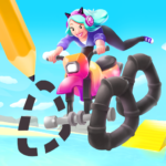 Scribble Rider APK (MOD, Unlimited Money) 1.505