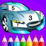 Super Duper – Cars Coloring by Numbers APK (MOD, Unlimited Money) 1.1