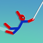 Super Hero Hook: Stickman Rope Swing APK (MOD, Unlimited Money) 1.0