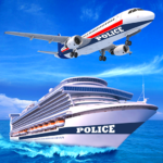 US Police Cruise Ship Car Truck Plane Transporter APK (MOD, Unlimited Money) 2.0.3