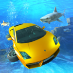 Underwater Stunts Car Flying Race APK (MOD, Unlimited Money) 2.0
