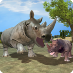 Wild Rhino Family Jungle Simulator APK (MOD, Unlimited Money) 2.2