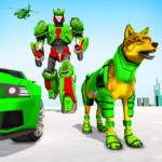 Wolf Robot Transforming Games – Robot Car Games APK (MOD, Unlimited Money) 1.0.23