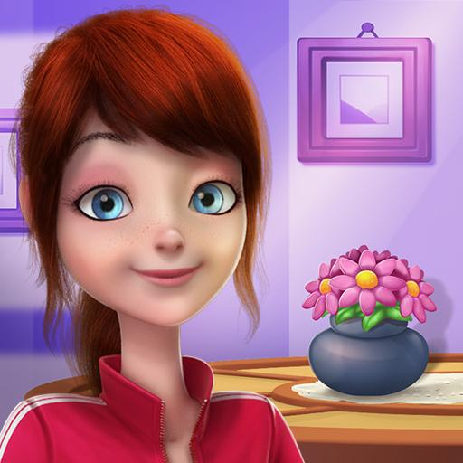 Bitcoin Girl – Home Design Match 3 APK (MOD, Unlimited Money) 1.1.1