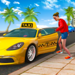 City Taxi Driving Sim 2020: Free Cab Driver Games APK (MOD, Unlimited Money) 1.0.9