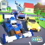 Crossy Brakes : Blocky Toon Racer APK (MOD, Unlimited Money)