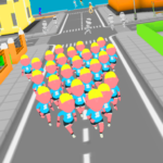 Crowd Run 3D : Multiplayer APK (MOD, Unlimited Money) 3