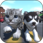 Cute Pocket Cat And Puppy 3D APK (MOD, Unlimited Money) 1.0.7.9