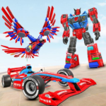 Eagle Robot Car Game – Formula Car Robot Games APK (MOD, Unlimited Money) 1.0.9