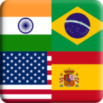 Flags Quiz Gallery : Quiz flags name and color APK (MOD, Unlimited Money) Flag 1.0.188